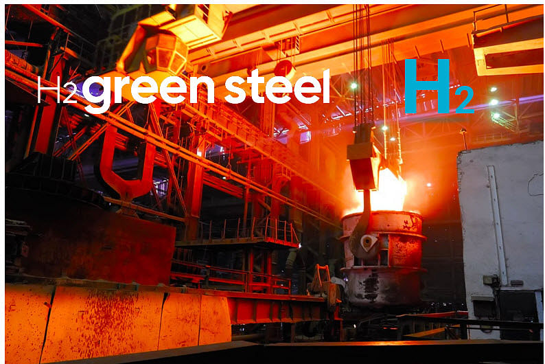 H2 Green Steel to Build Fossil Free Steel Plant in Northern Sweden