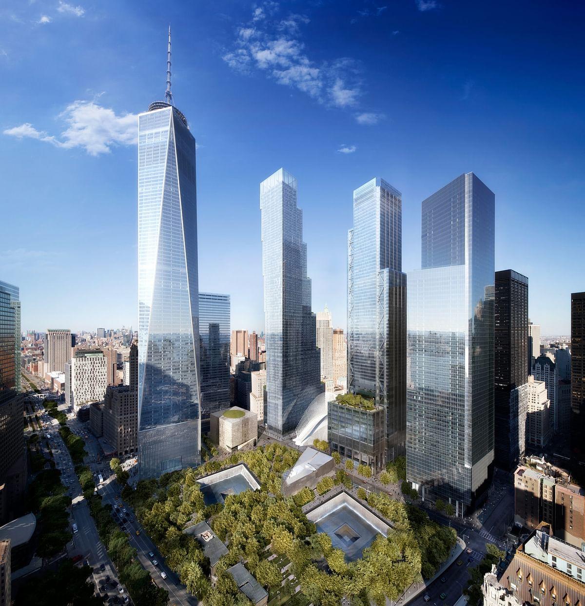 Brookfield Silverstein Omni & Dabar  Develop 5 World Trade Center