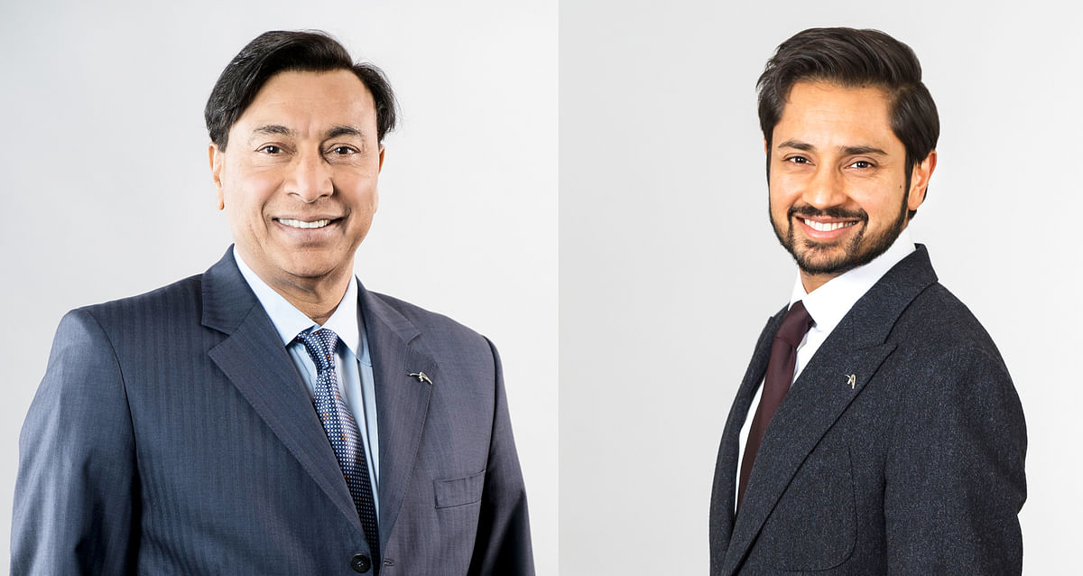 Mr LNM to Become Executive Chair & Mr Aditya CEO of ArcelorMittal