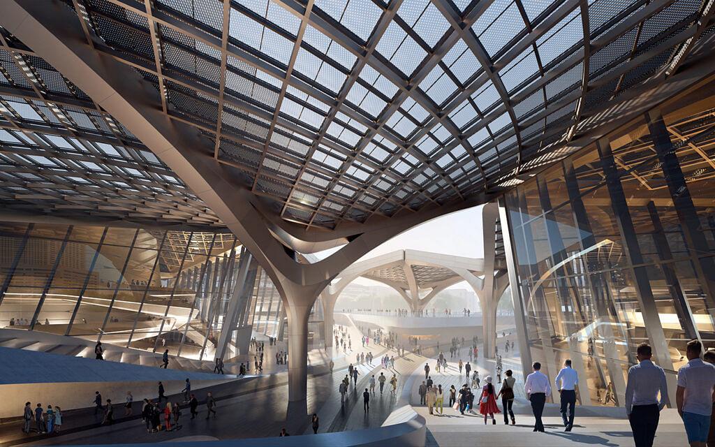 Zaha Haddid Designs Zhuhai Jinwan Civic Art Centre in China