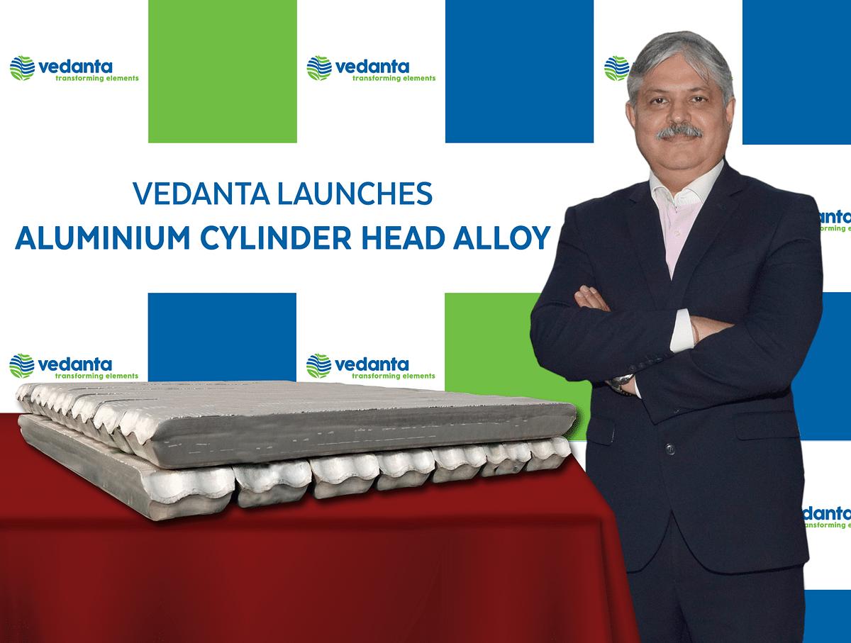 Vedanta Launches Aluminium Cylinder Head Alloy at ACMA 2021