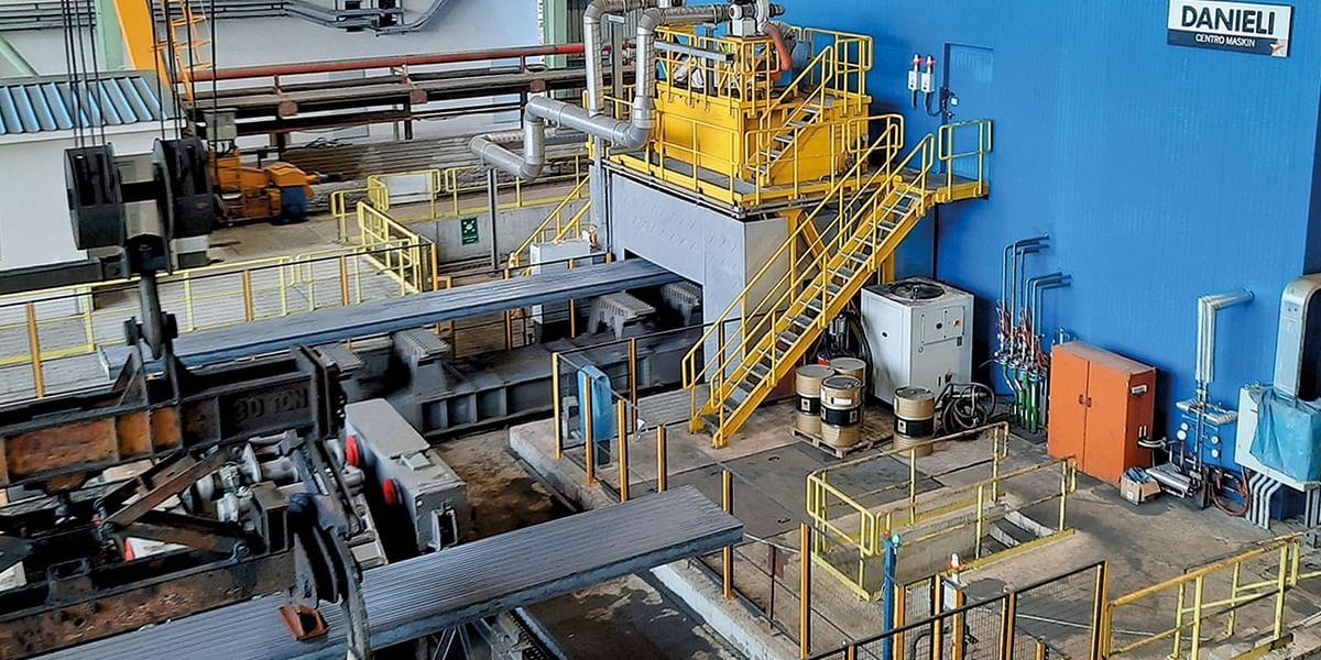 Danieli Slab Grinding Plant in Operation at Erdemir in Turkey