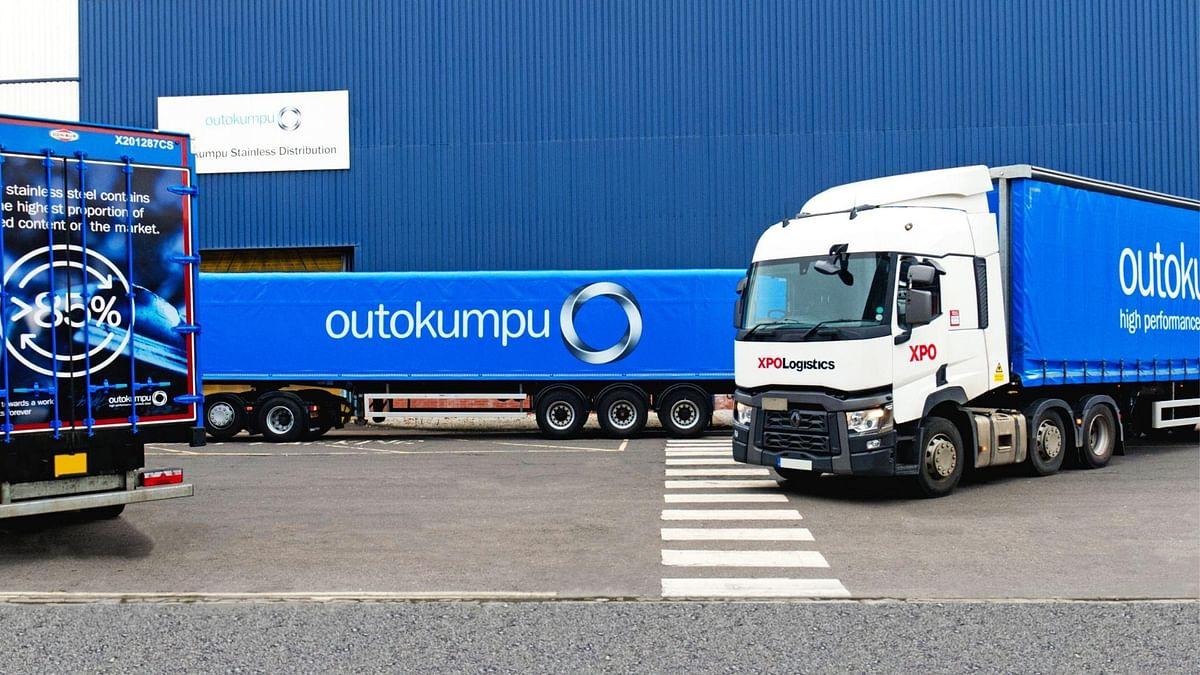 XPO Logistics Expands Partnership with Outokumpu UK