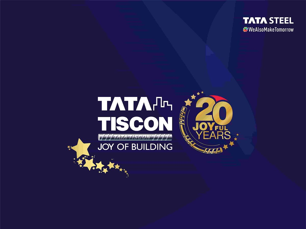 Tata Tiscon Rebar Brand is 20 Years Old