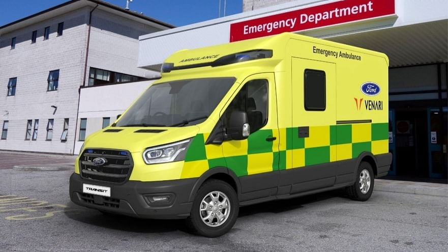 Ford & Venari Group to Produce New Lightweight Ambulance