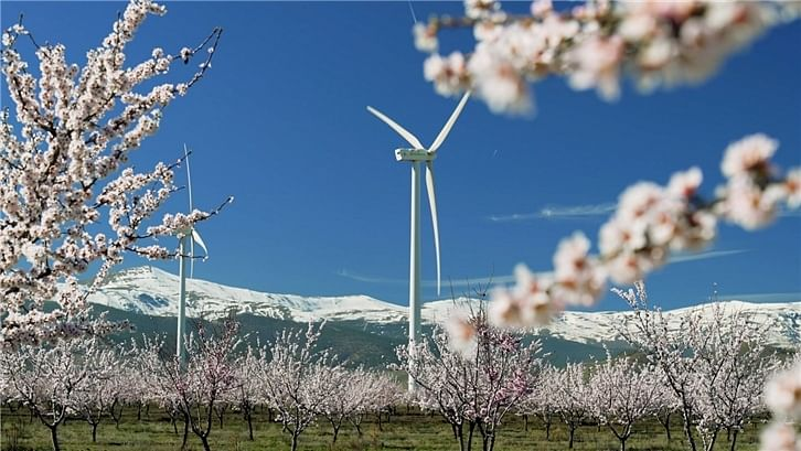 Iberdrola Building 3 Wind Farm in Malaga & Seville in Andalusia