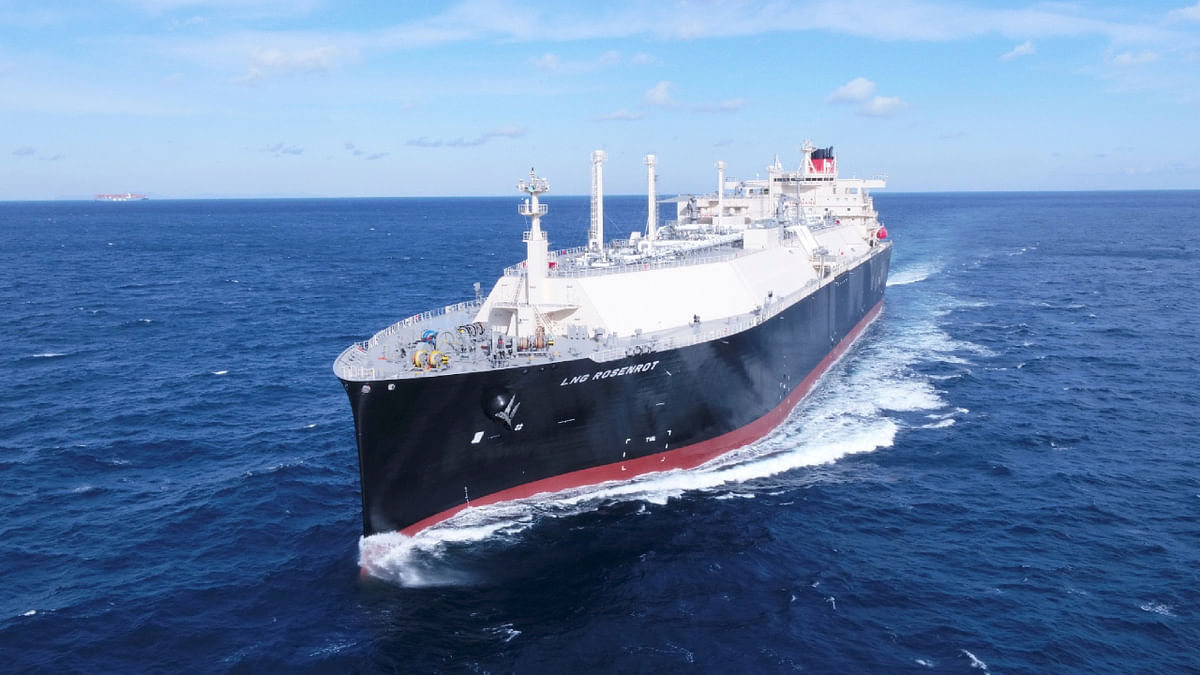 MOL LNG Rosenrot in Service for Uniper