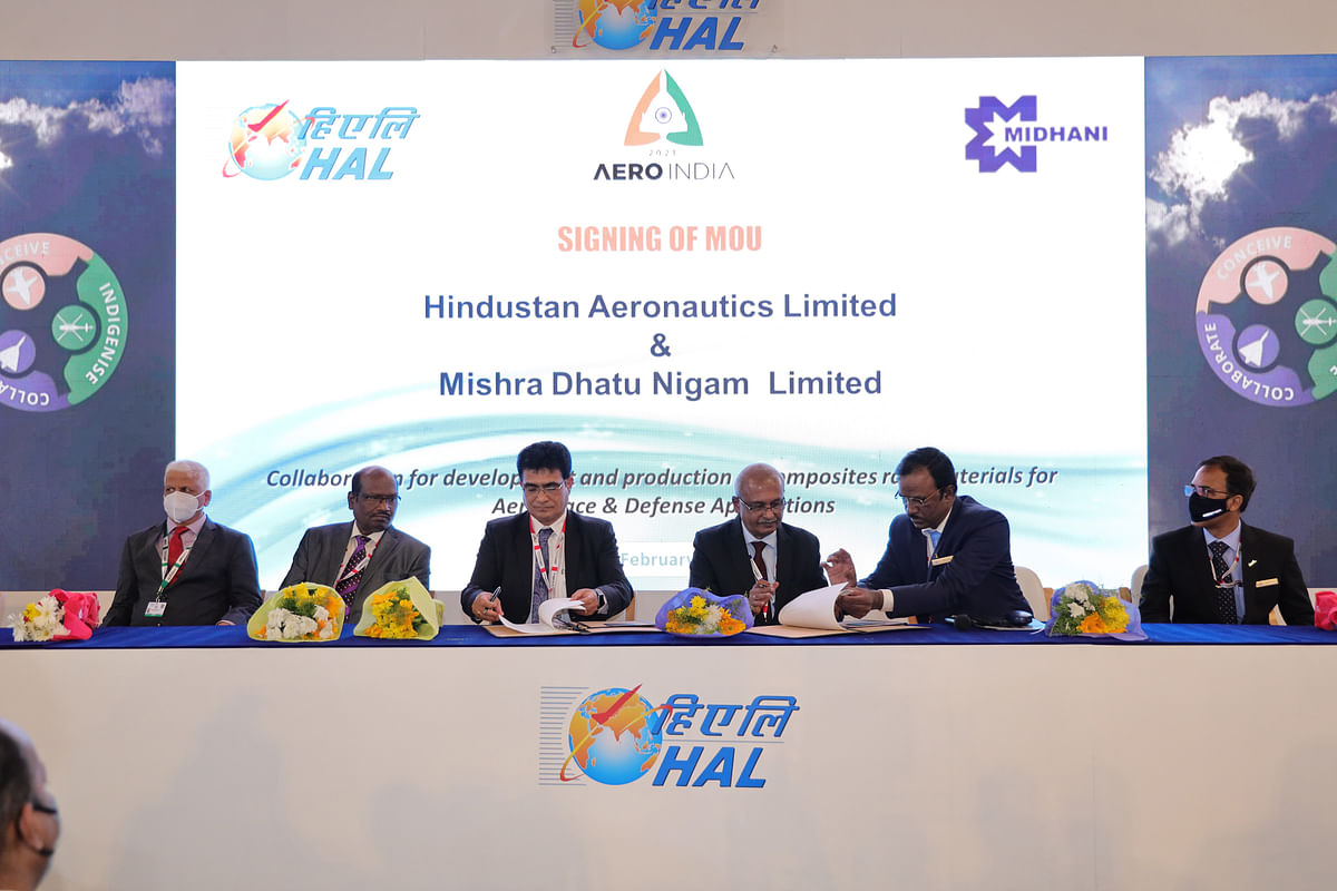 HAL & MIDHANI to Develop Composites Raw Materials