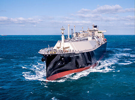 LNG Carrier Named GAIL BHUWAN for GAIL
