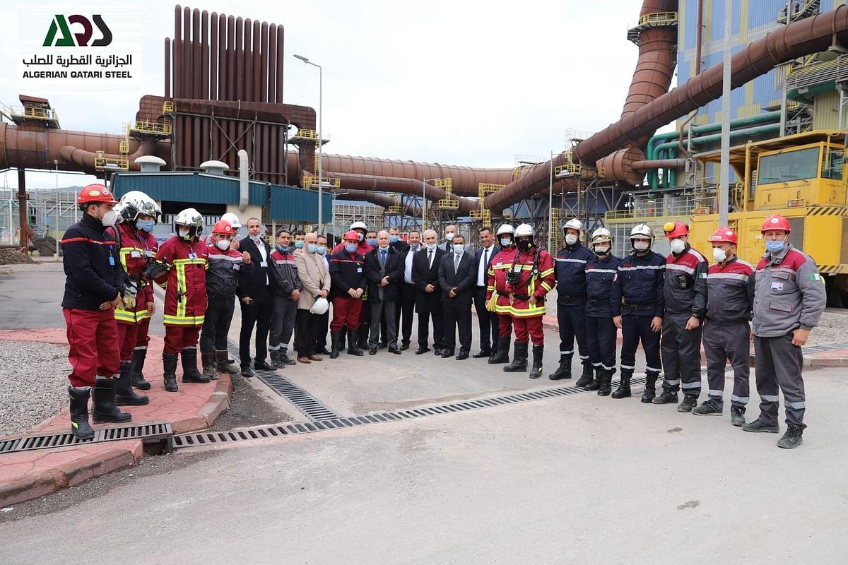 Algerian Qatari Steel DRI Unit Enters Production Phase