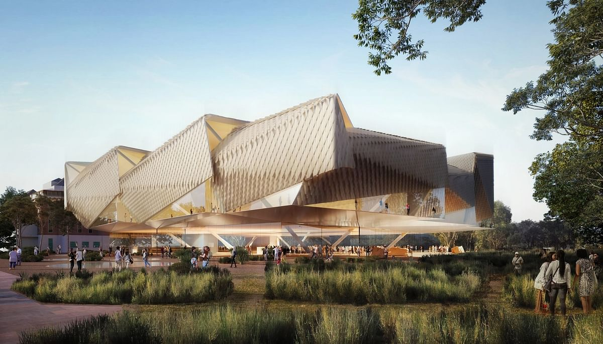 Diller Scofidio Renfro Designs Aboriginal Art & Cultures Centre