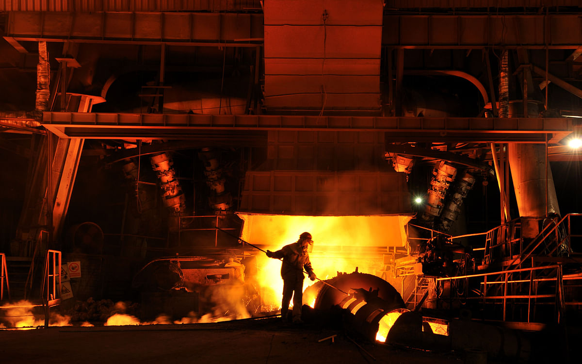 Indian Crude Steel Production in Apr-Jan Down by 10% YoY