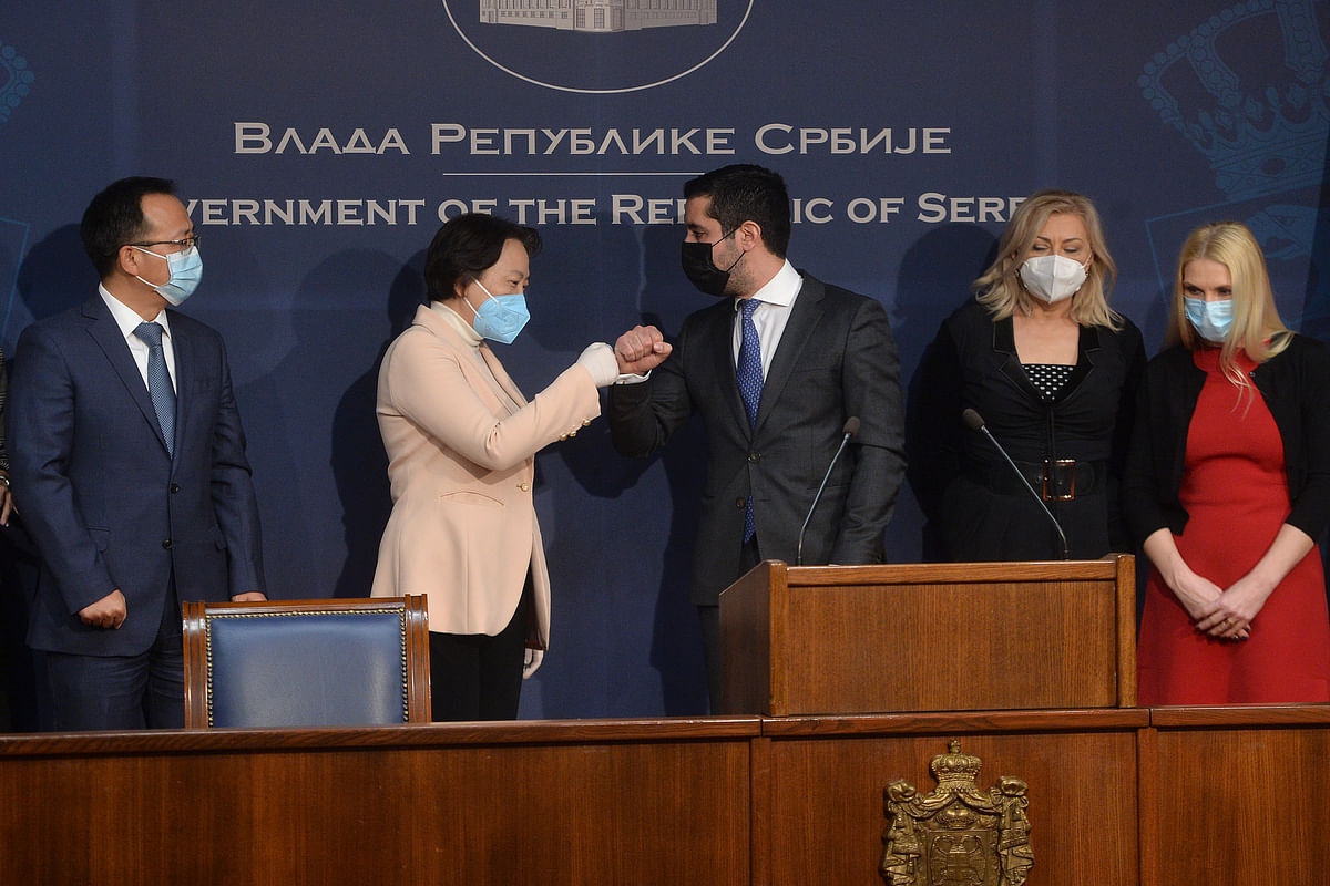 China to Build Sewage System in Serbia