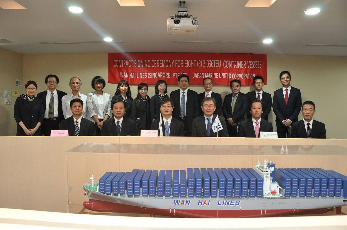Wan Hai Lines Orders 12 New Vessels