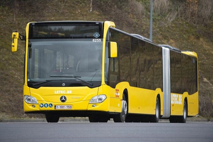 Mercedes Benz Supplies 129 Citaro G Hybrid to TEC Group