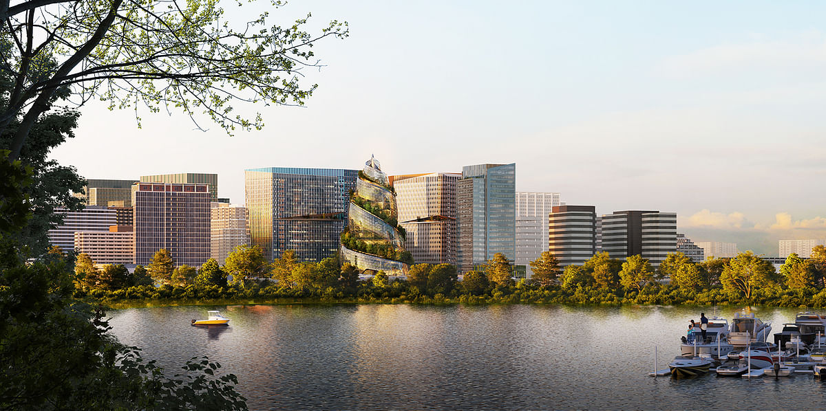 Amazon Design for Second Phase  Arlington headquarters in Virginia