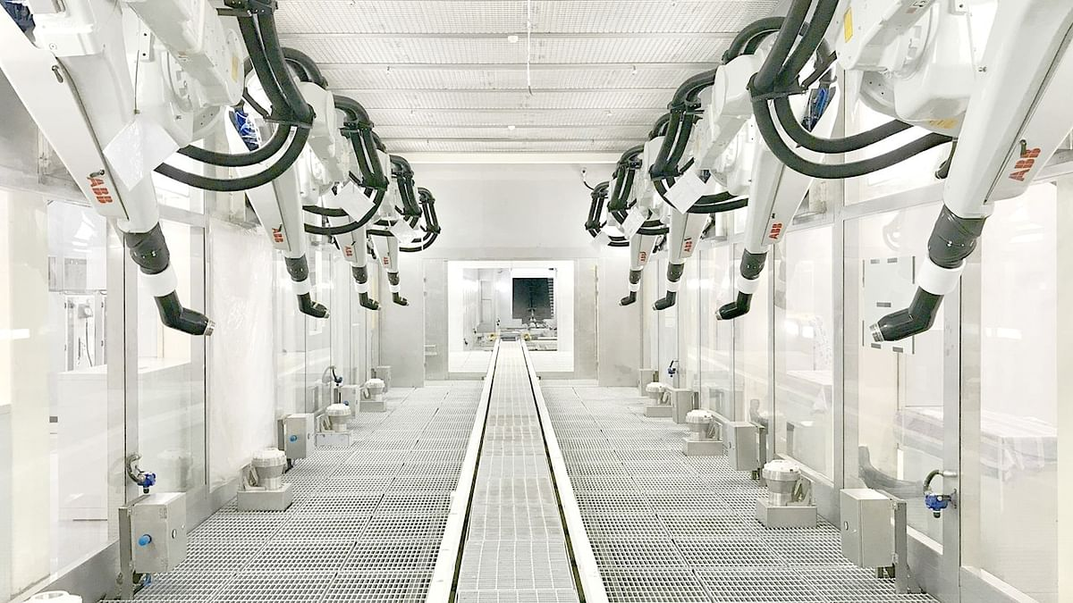 ABB Robotics & Automation at Ola E Scooters Plant in India