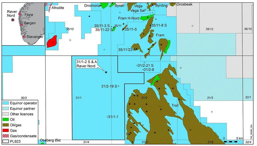 Equinor Discovers Oil Near Troll Field in North Sea