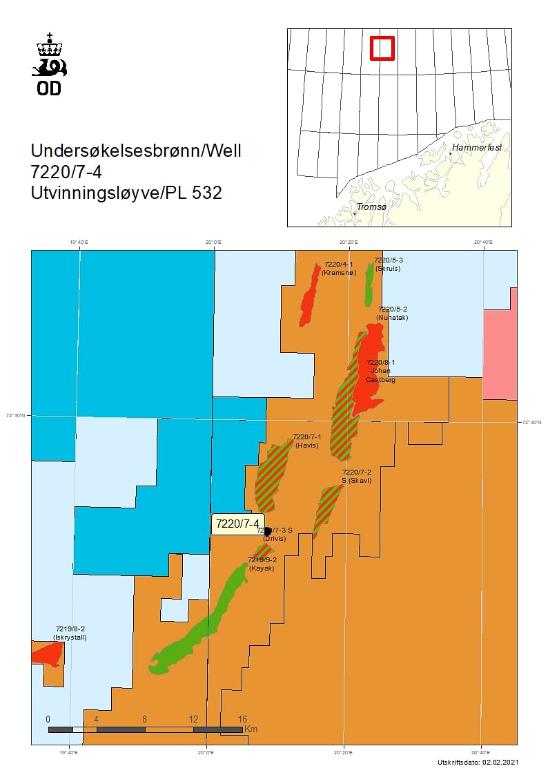 NPD Grants Drilling Permit to Equinor for Well in Licence 532