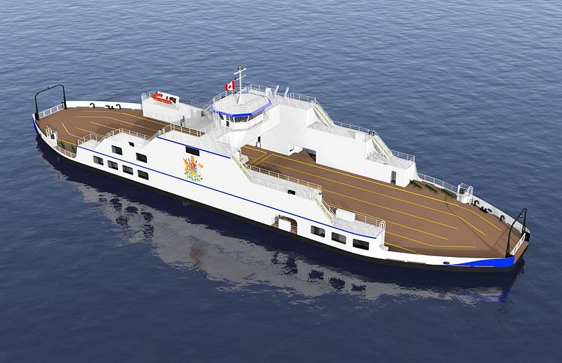 Wartsila Hybrid Solution for Canadian Ro-Ro Ferry