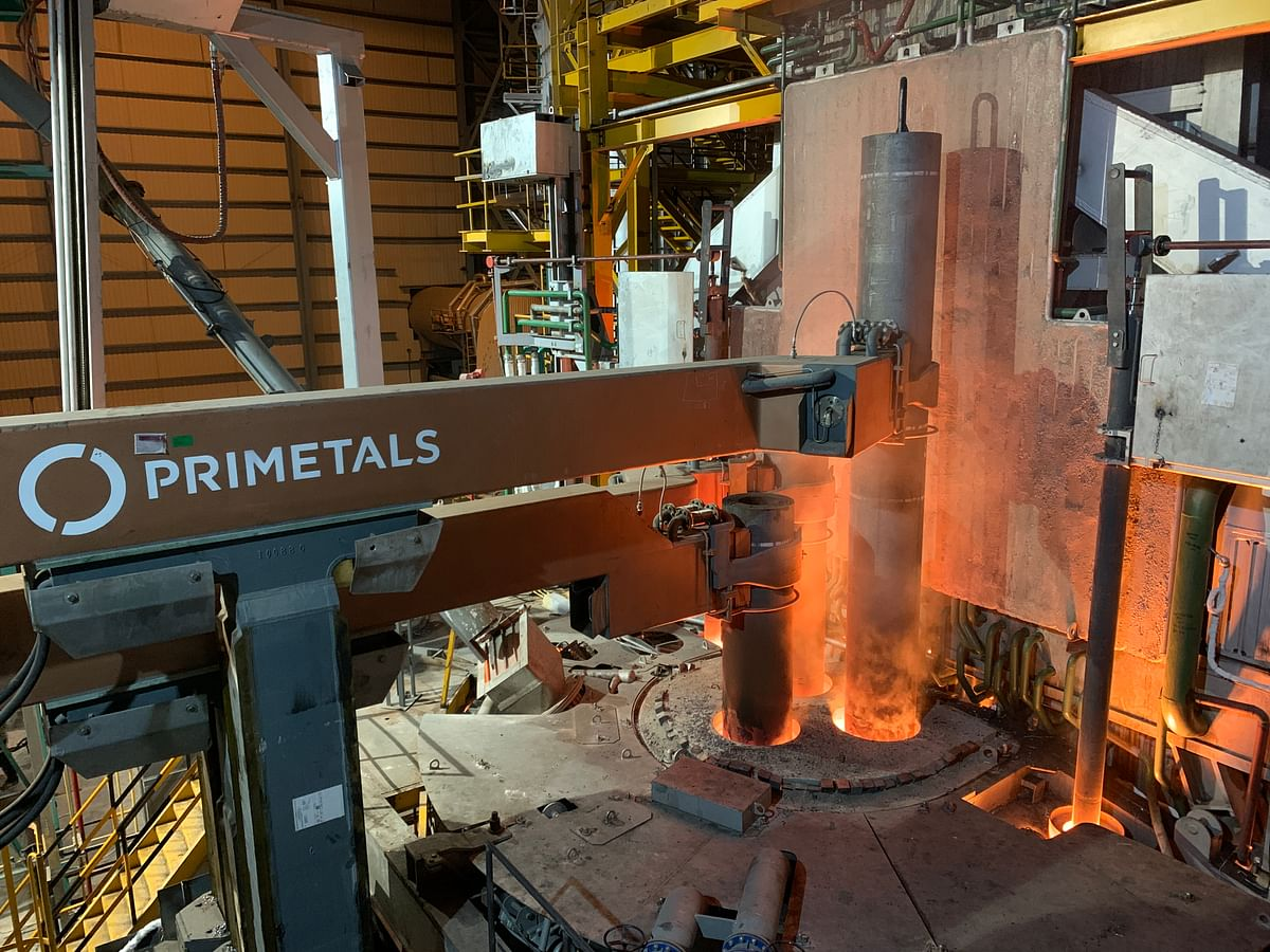 Primetal EAF & Ladle Furnace Start at Wuzhou Yongda Special Steel