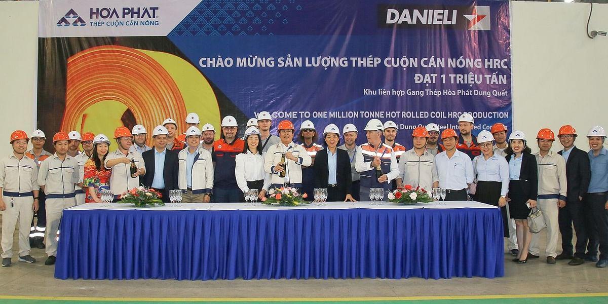 Hoa Phat Produces 1 Million Tonne HRC with Danieli QSP