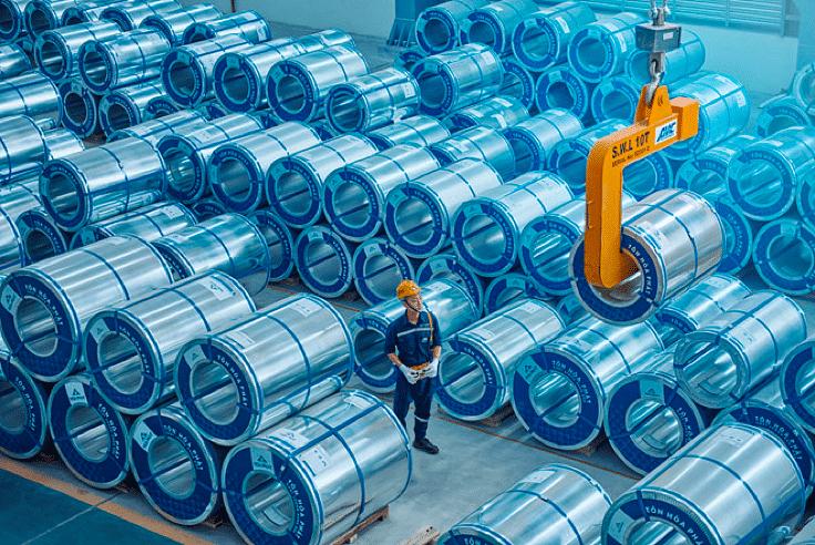 Hoa Phat Exports 12 KT Galvanized Steel to US