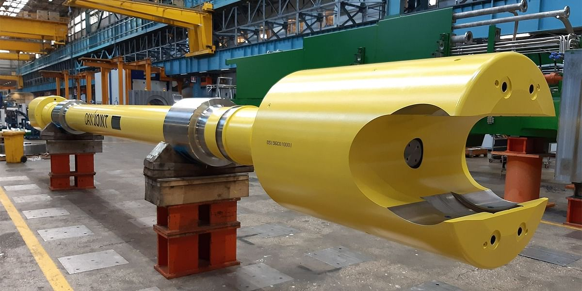 Danieli Ships Danjoint Slipper-Spindle for HINDALCO