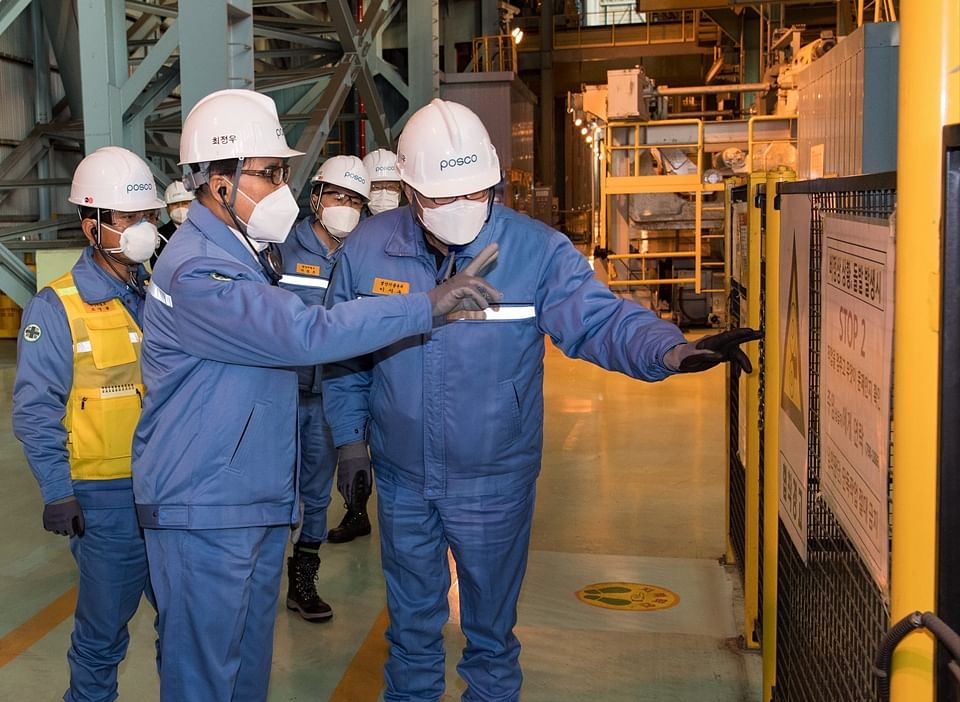 POSCO Accords Worker Safety Highest Priority