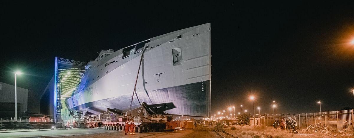 Damen Launches Multi Mission Inshore Patrol Vessel for SA Navy