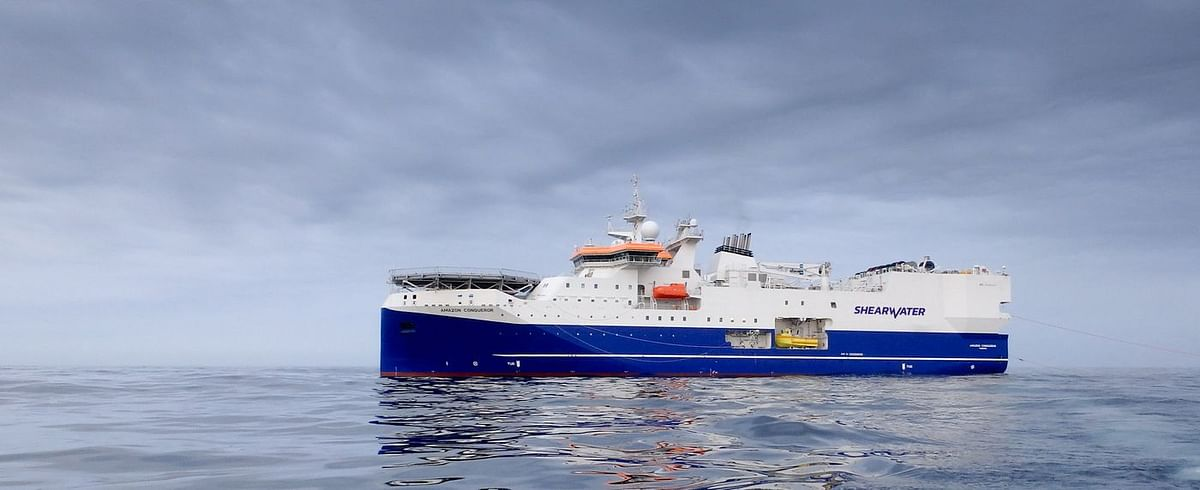 Shearwater GeoServices Bags 4D Survey Offshore Angola by Total