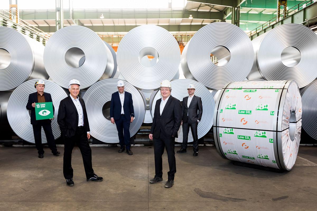 TUV SUD Confirms Green Flat Steel from Salzgitter