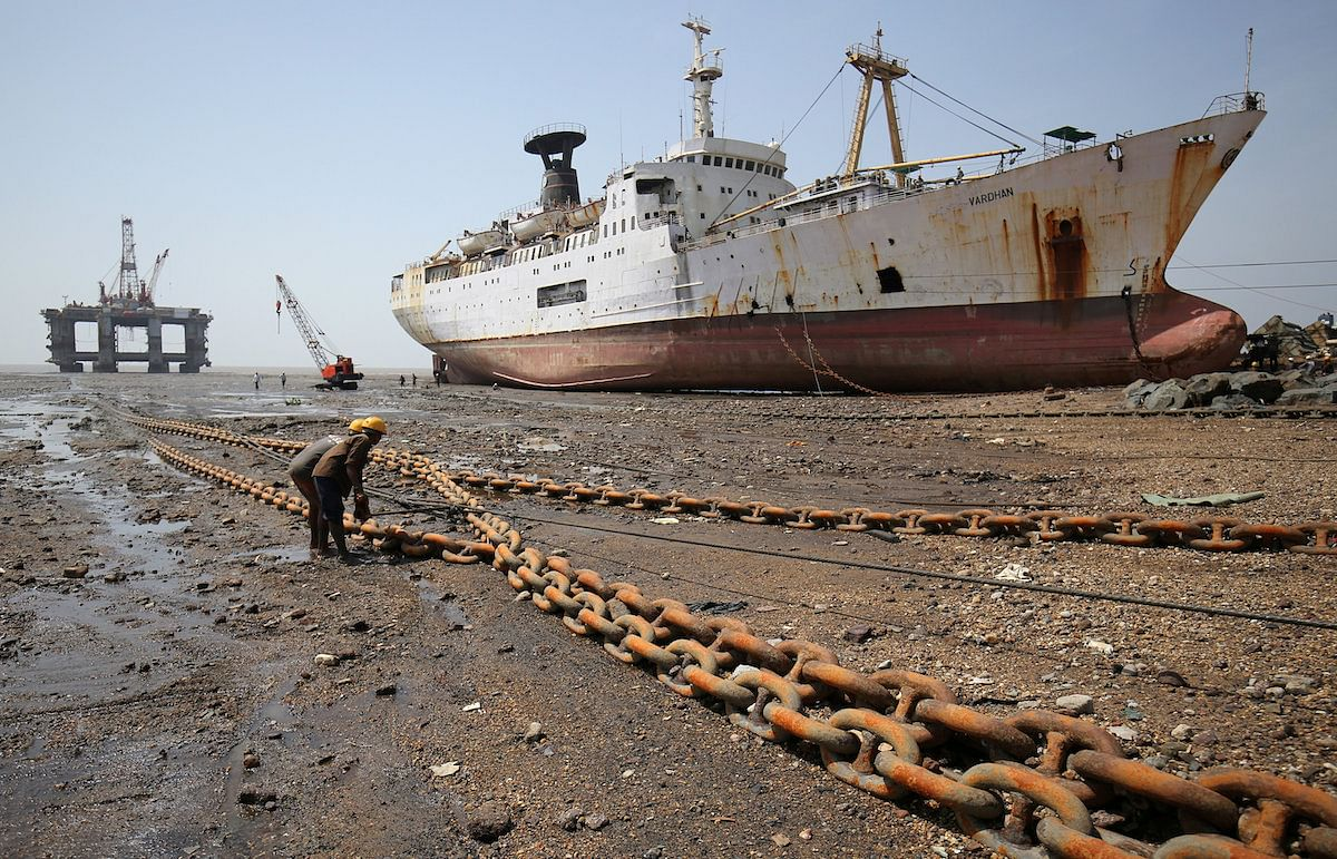 Crisil Expects 10% Growth for Indian Ship Breaking Sector
