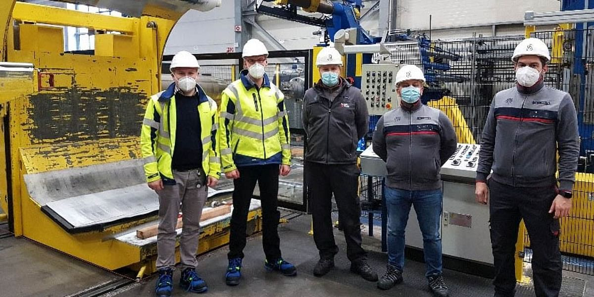 Danieli Modernizes Slitting Lineat Becker Stahl-Service in Germany