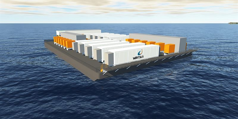 Wartsila Barge Mounted Energy Storage System in Philippine