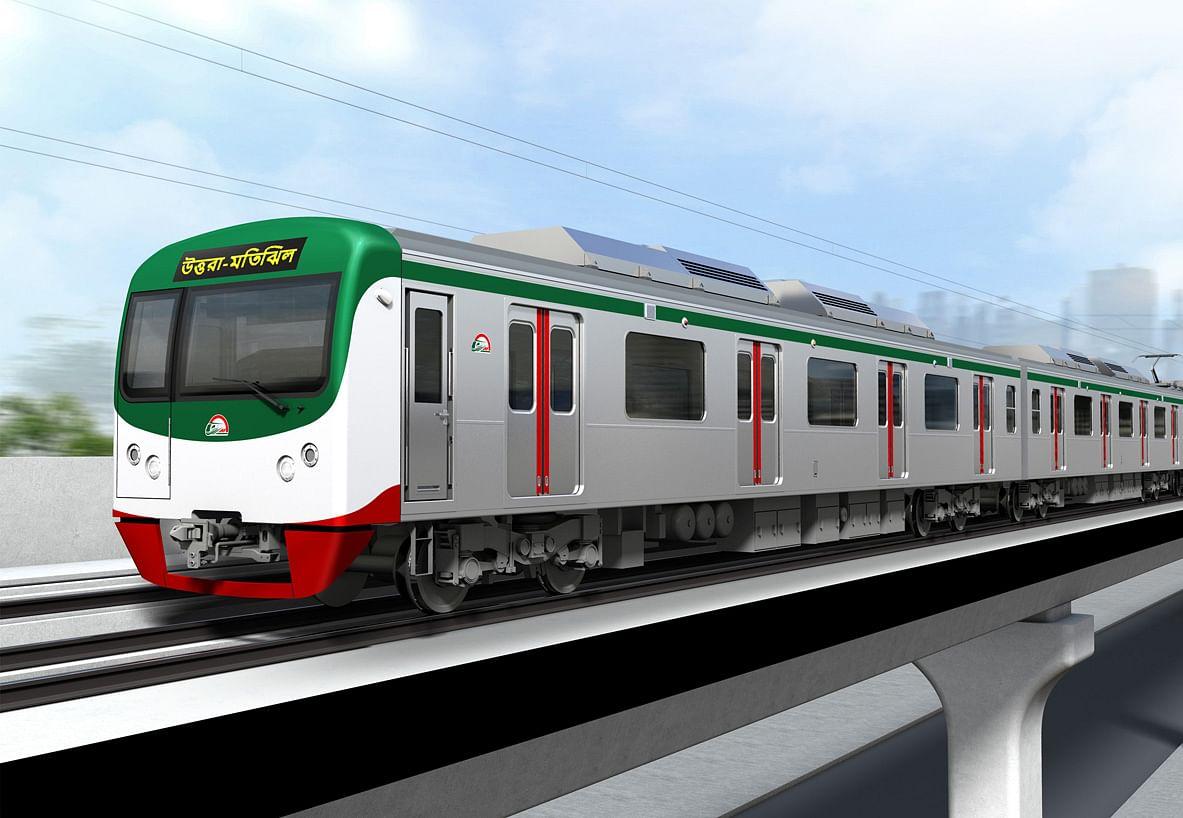 Kawasaki Ships Rolling Stock for Dhaka MRT Line-6