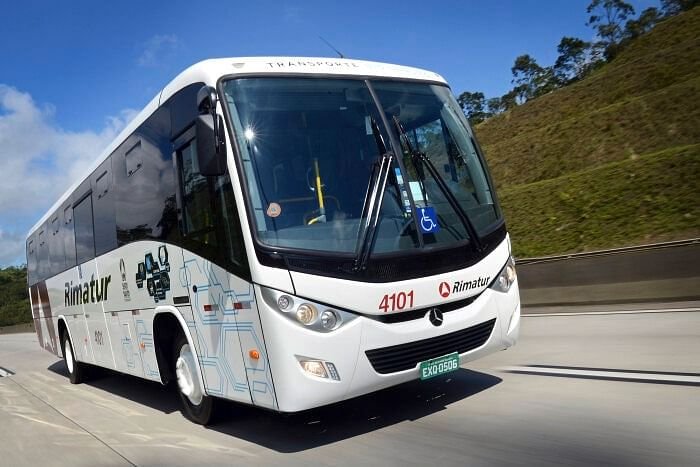 Daimler Buses Launches OF Bus Chassis in Brazil