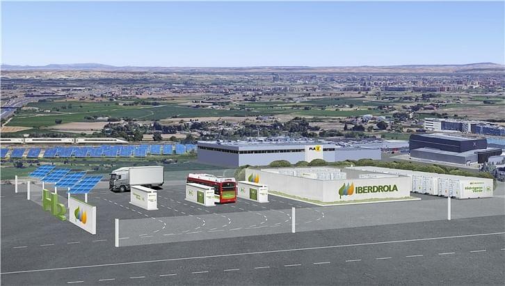 Iberdrola Mobilises Aragón's Green Hydrogen Generation Project
