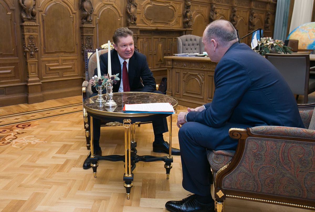 TMK Apprises Gazprom about ChTPZ Acquisition