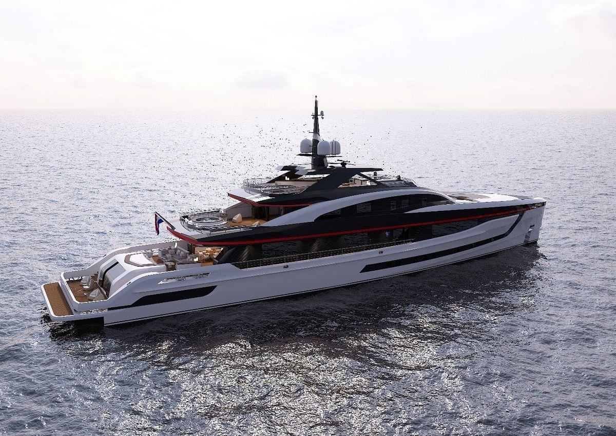 Kongsberg Maritime Waterjet Drives for High Speed Superyacht