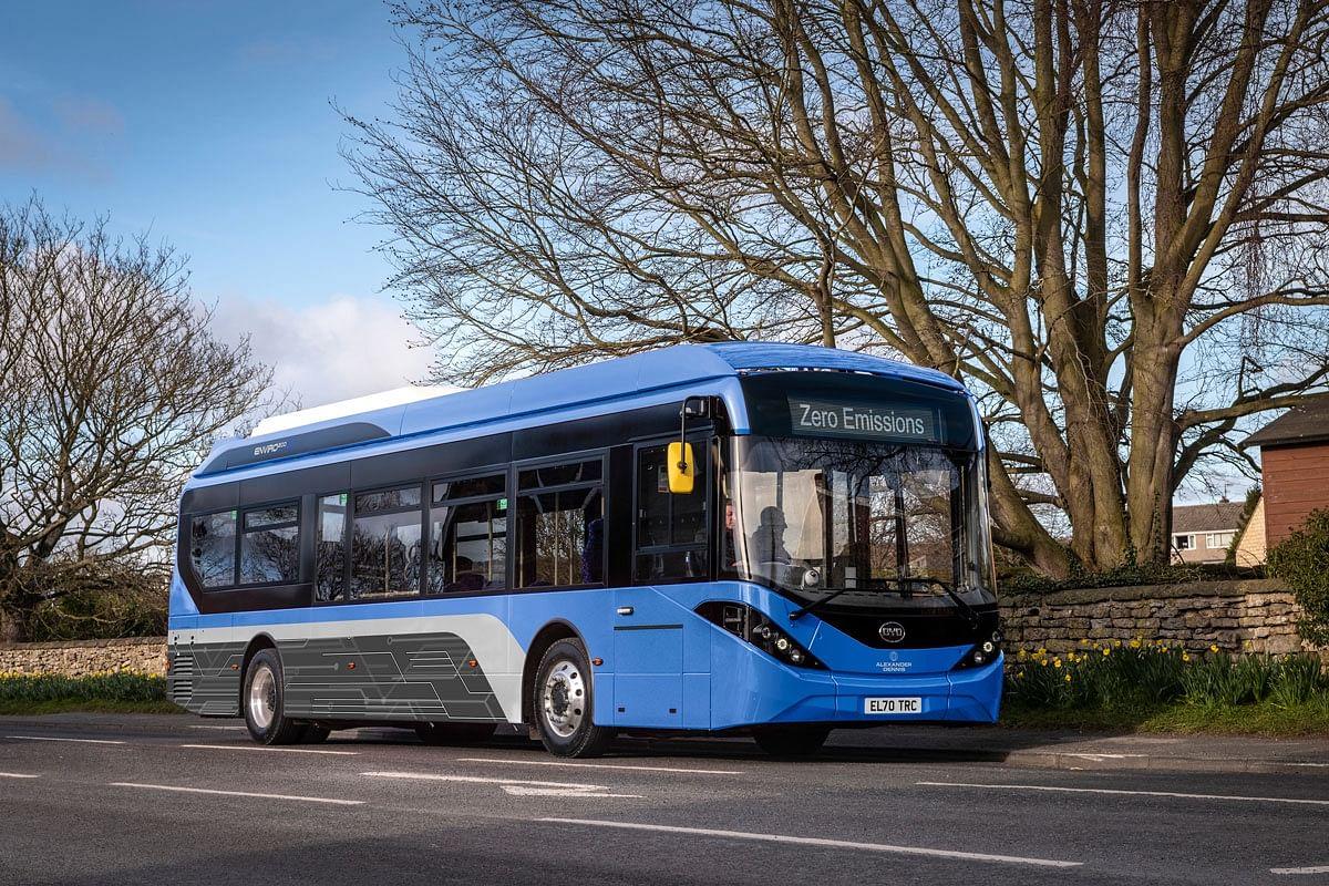First Bus Orders 22 BYD ADL Enviro200EV Electric Buses