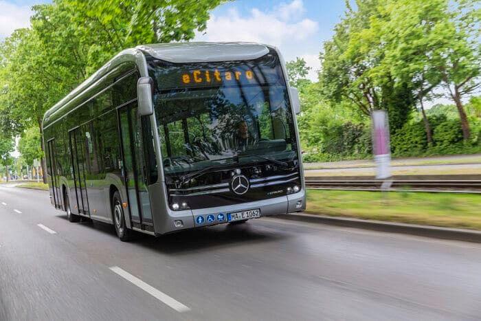 Métropole Rouen Normandie Orders Mercedes Benz eCitaro Buses