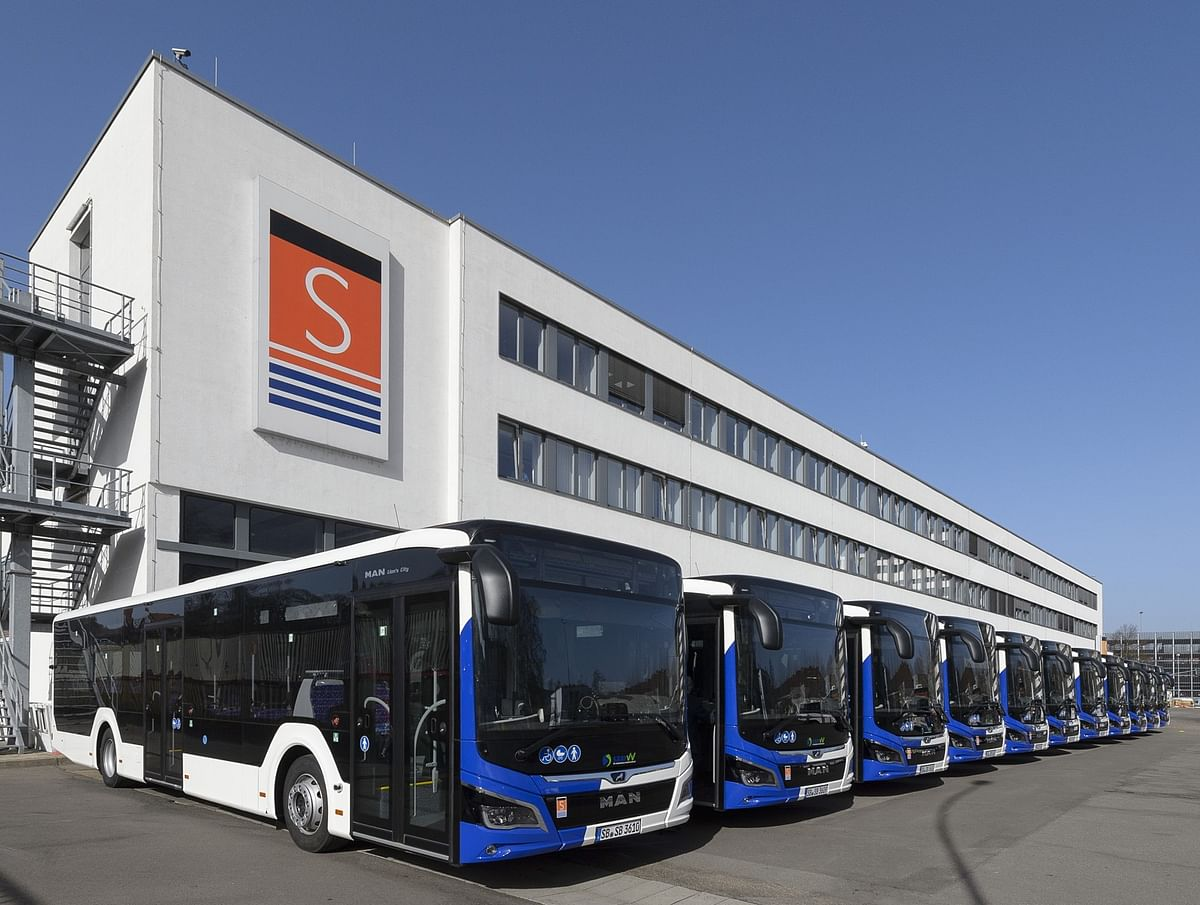 Saarbahn Orders 20 MAN Lion's City Buses