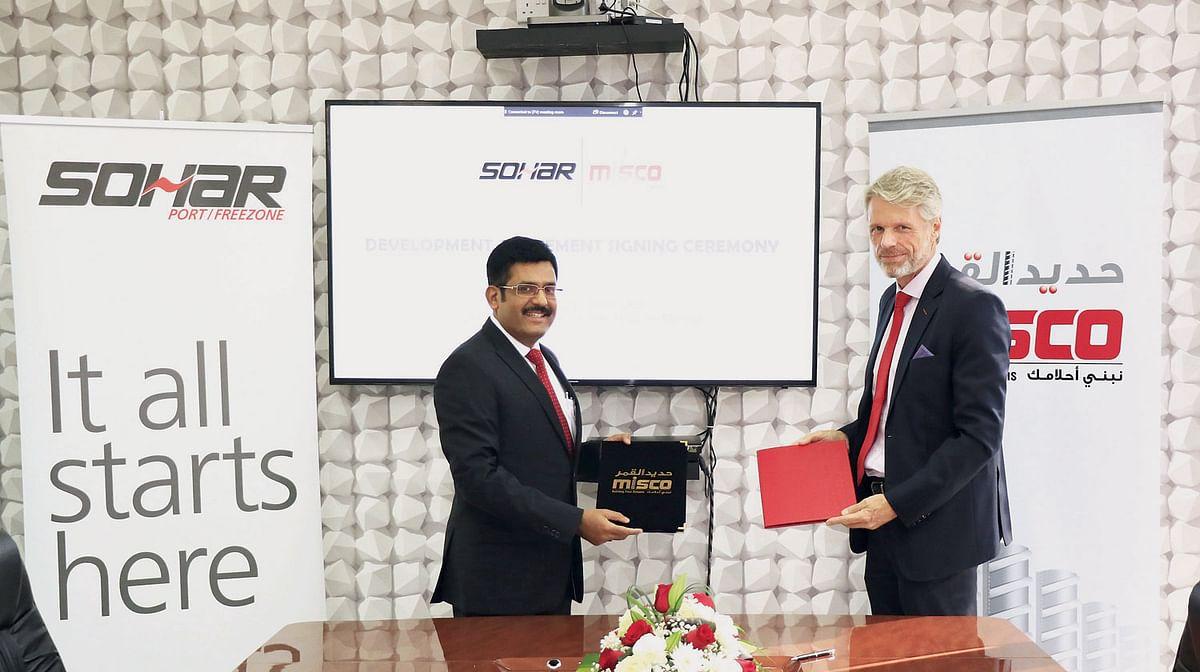 SOHAR Port & MISCO Sign Land Development Agreement