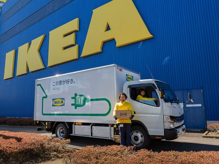 IKEA Japan Uses Daimler FUSO eCanter for Delivery