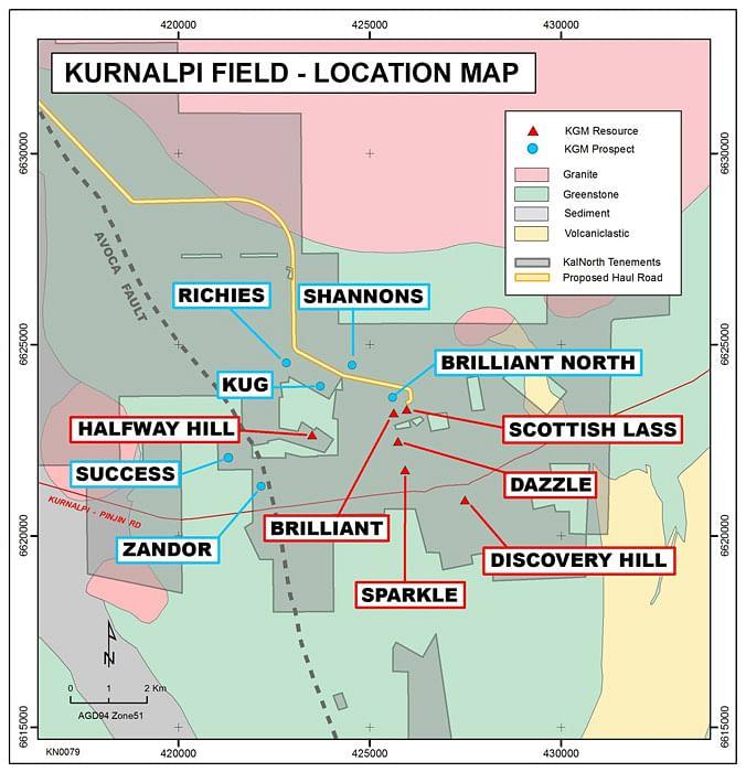 KalNorth Gold Kurnalpi Project