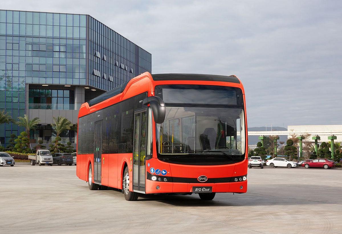 DB Regio Bus Orders 5 Electric Bus from BYD
