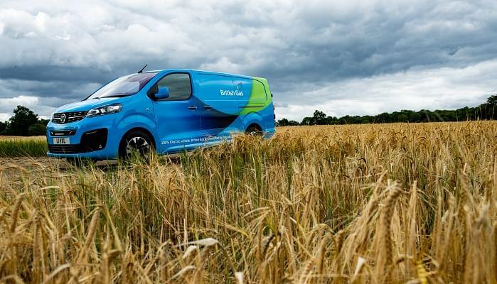 British Gas Orders 2000 Vivaro-e Vans from Vauxhall