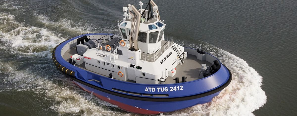 South Port New Zealand Orders Damen Azimuth Tractor Tug 2412