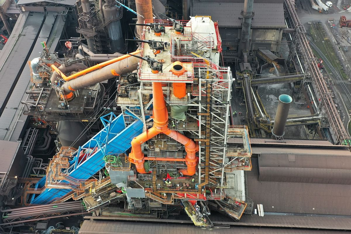 ArcelorMittal Belgium Inaugurates Blast Furnace B in Ghent